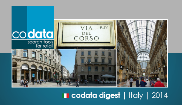 Codata Digest - Italy - 2014