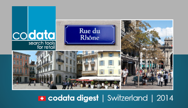 Codata Digest - Switzerland - 2014