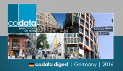 Codata Digest - Germany - 2016